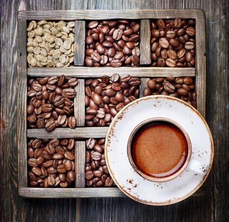 Le diverse tipologie del caffè
