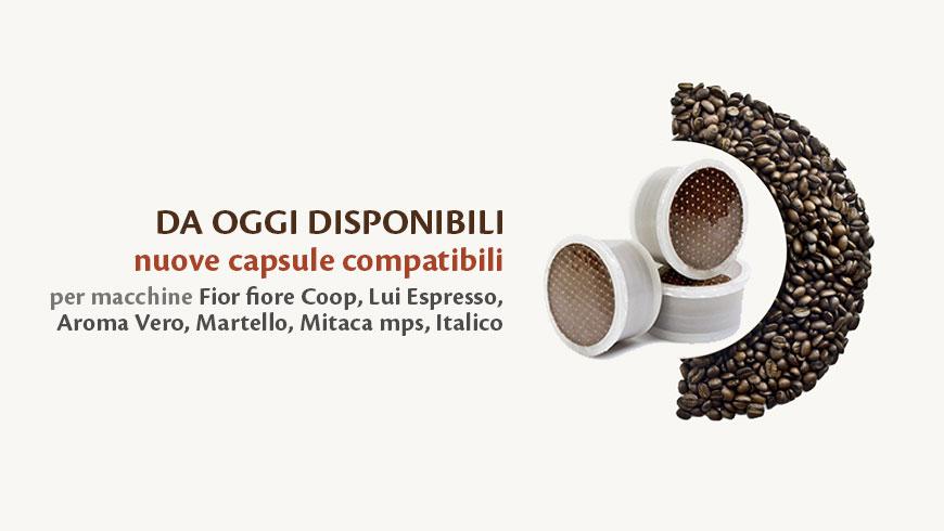 capsule compatibili Lui espresso fior fiore coop