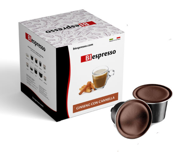 Capsule Dolce Gusto Ginseng e Cannella